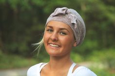 Guardian Angel Lavender Head Scarf: Limited Edition Collection by Angelika Gale for cancer patients // Spring, Summer, Fall, Winter