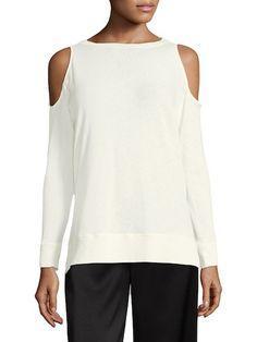 Landon Cold Shoulder Sweatshirt by Alice   Olivia at Gilt