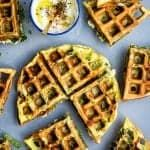 If you think the waffle iron is strictly for waffles, then think again! These 12 delicious waffle iron recipes will change how you cook with it. Savory Waffles, Sweet Potato Waffles, Savory Breakfast, Pancakes And Waffles, Healthy Waffles, Protein Waffles, Mexican Breakfast, Breakfast Pizza, Breakfast Bowls