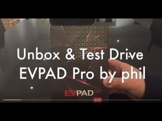 (691) 2017 EVPAD Pro HK Live TV Device - Test Drive and Open Box ( 廣東話 Cantonese Version ) - YouTube