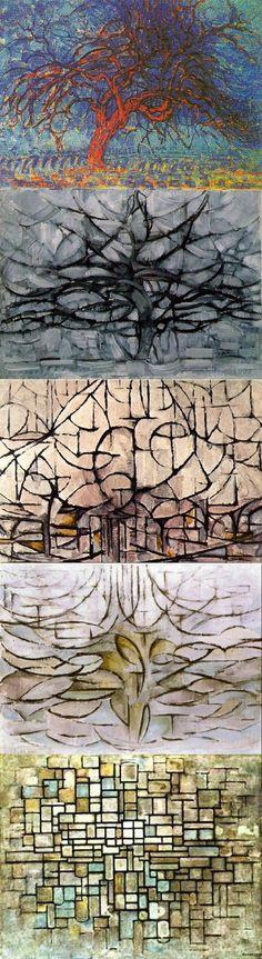 Piet Mondrian: la pittura come \