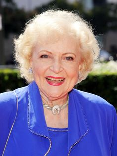 Betty White. She's just awesome. And when she leaves us, I will be inexplicably sad.