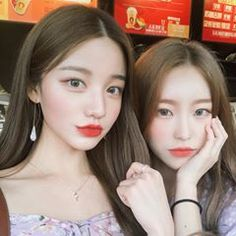 Image in Asian beauty 🌸 collection by Yumi on We Heart It Ulzzang Korean Girl, Ulzzang Couple, Cute Korean Girl, Asian Girl, Girls In Love, Cute Girls, Korean Best Friends, Girl Friendship, Girl Couple