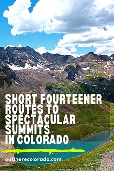 Climb to new heights with a mountain-top adventure in Colorado. Here are short fourteener routes to spectacular summits in Colorado   #OutThereColorado #ColoradoHikes #ColoradoExplore #ColoradoTrails #ColoradoThingsToDo #ColoradoVacation #ColoradoExplore #ColoradoHiking #ColoradoAdventures 14ers In Colorado, Visit Colorado, Colorado Hiking, Colorado Mountains, Places To Travel, Places To Go, Summit View, Winter Mountain, Best Hikes