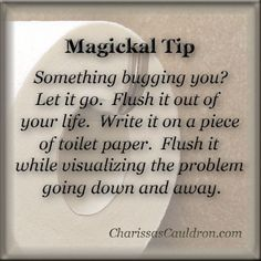 Something Bugging You?……..Magickal Tips & Hints – Witches Of The Craft®