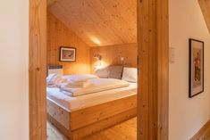 Total of 3 double bedrooms plus one bunk room at Chalet Bergfalter - 10 guests in total! Double Bedroom, Bedrooms, Furniture, Home Decor, Couple Room, Decoration Home, Double Room, Room Decor, Bedroom