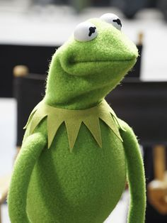 Kermit just waiting for his school bus Jim Henson, Sapo Kermit, Funny Kermit Memes, Cartoon Memes, Sapo Meme, Sesame Street Muppets, Frog Meme, Fraggle Rock, The Muppet Show