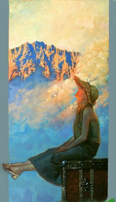 Maxfield Parrish (1870-1966) - I would love to have a print of this!