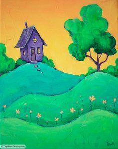 Tiny Purple House at Sunrise | Flickr - Photo Sharing!