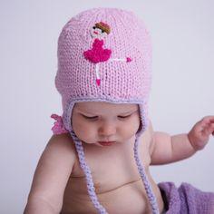 31ab8606a28 Ballerina Earflap Beanie Hat