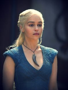 Daenerys Targaryen - Blue Dresses - Season 2 and 3