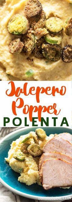 Jalepeño Popper Polenta