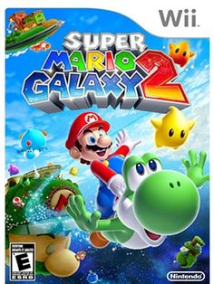 "Your Wholesale Dropship Source - Super Mario Galaxy 2 Wii ""Super Mario Galaxy 2 for Wii. Traveling through the galaxy with his favorite vehicle Yoshi Mario is back jumping running and flying with new puzzles stages and enemies! Super Mario Bros, Super Mario Games, Playstation 2, Xbox 360, Video Games Xbox, Wii Games, Games To Play, Gamecube Games, Wii U"