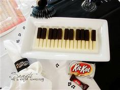 Candy Bar Piano this would be fun for a piano recital