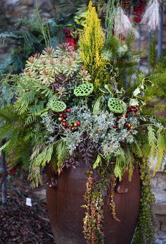 Brenda's holiday garden decorations in Georgia