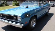 1970 Plymouth Duster 340 H Code For Sale~Pwr Steering & Brakes - https://www.musclecarfan.com/1970-plymouth-duster-340-h-code-for-salepwr-steering-brakes/