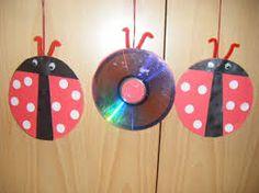Resultado de imagen de manualidades con cd