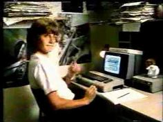 I love the 80s  Commodore 64 commercial (1985) Remember Larry Bird vs. Dr. J. basketball....