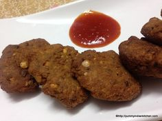 Masala Vada Recipe with Bengal Gram...  http://yummyindiankitchen.com/masala-vada-recipe-how-to-make-masala-vada/