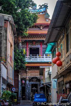 Old Street Tainan Taiwan