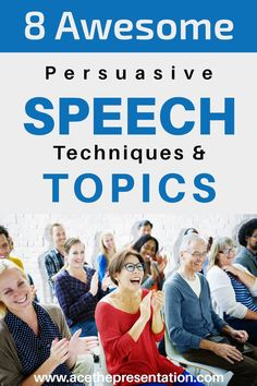 Everyone would love to know how to persuade and convince others with their speech, and most importantly how to do so effectively. Whether you want to persuade someone to buy in to your idea, your product or services, your cause, whatever the case maybe you have got to know the right techniques for persuasive speeches. Check out our 8 awesome persuasive speech techniques, and learn how to do it yourself.  #publicspeaking #persuasivespeech #persuasivespeechtechniques #convincingothers