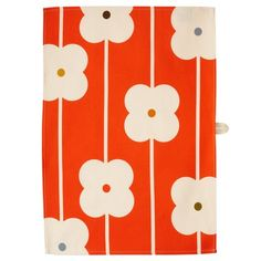Orla Kiely's Kitchen collection features textiles, tins and mugs in an array of prints, including Multi Stem, Linear Stem and Flower Abacus.