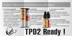e-liquides Fuel TPD2 ready!