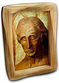 Christus - mit rahmen - The Representative of Man by Rudolf Steiner