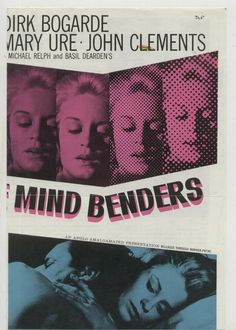 Henry Laidlaw Longman (Sir Dirk Bogarde) tests the possibility of brainwashing. size of Brochure = 19 cm - cm aprox. Souvenir Film, Mind Benders, Thriller, Presentation, British, Movie Posters, Film Poster, Popcorn Posters, Film Posters