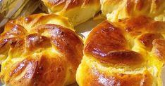 Από τα πιο υπέροχα γευστικά Τυρόψωμα με γέμιση από χυλό που θα έχετε φάει !!   ΣΥΝΤΑΓΗ ΥΛΙΚΑ ΚΑΙ ΕΚΤΕΛΕΣΗ:  1 φακελάκι ξερή μαγιά,  4... Middle Eastern Dishes, Middle Eastern Recipes, Pretzel Bites, No Bake Cake, French Toast, Food And Drink, Snacks, Cookies, Breakfast