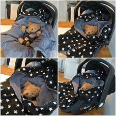Wrap-filt till baby att ha i babyskyddet