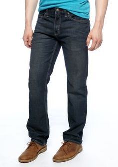 Red Camel Dark Stone Stryker Slim Straight Jeans