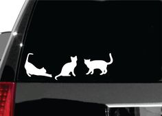 Hey, I found this really awesome Etsy listing at https://www.etsy.com/listing/204845262/cat-decal-for-car-window-bumper-or