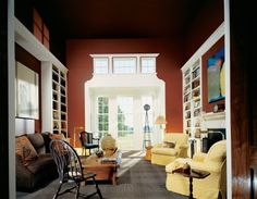 """Benjamin Moore color """"clydesdale brown"""".....exquisite, is it not? Delicious!!!"""
