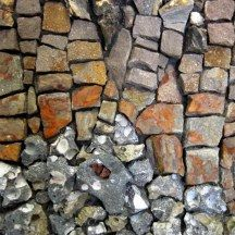 Mosaic art studio on the Great Allegheny Pass. Mosaic Art, Mosaics, Collage, Mosaic Ideas, Aloha Shirt, Coke, Brick, Tiles, Collages