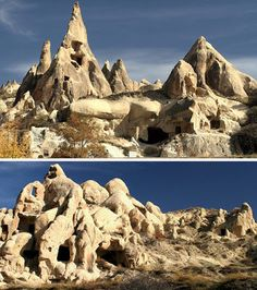 The Archaeology News Network: Underground Cities: 3500 years of Cappadocian cave homes
