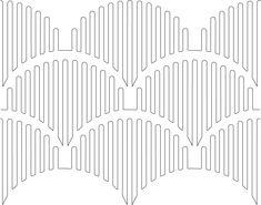 clamshell stripe