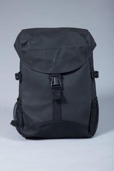 Rains Black Runner Backpack 3b31810e3a70c