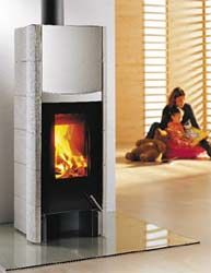 If you marveled at the Raiswittus stoves we showcased earlier in the year, then we've got something else to tempt your chilly toes.  The Topolino stove is another great modern heating machine with an efficiency of up to 80% (5-10% more than the Rais