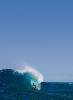 Man that is such a clean wave.