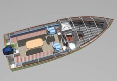 катер 6 метров - Hobbies paining body for kids and adult Yacht Design, Boat Design, Ocean Fishing Boats, Simple Boat, Wooden Boat Kits, Classic Wooden Boats, Plywood Boat, Concept Ships, Aluminum Boat