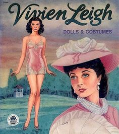 Vivien Leigh Paper Dolls