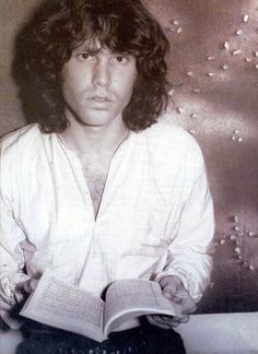 Jim Morrison. Gloria Stavers Apartment shoot.