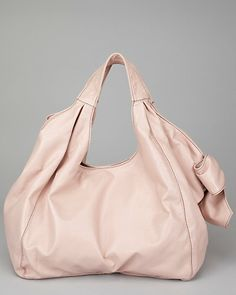 Valentino Pink Patent Leather Bow Lacca Tote