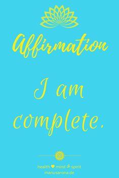 vollständig positive Affirmation selbstwert selbstliebe blau chakra chakren yoga meditation selfcare selflove intuition mantra kraftvoll, ja zum Leben, konditionierung traumaheilung trauma, du bist, traumahealing codependency conditioning negative mind, innerer kritiker, NLP dankbarkeit glück glücklich glücklichsein dankbarkeitsjournal genügsamkeit achtsamkeit bewusstsein positivität einfachheit zen buddhismus prayer yogazitat jetzt lifestyle yogalifestyle lebensstil spiritualität… Think Positive Thoughts, Yoga Meditation, Intuition, Mantra, Law Of Attraction, Trauma, Affirmations, Mindfulness, Positivity