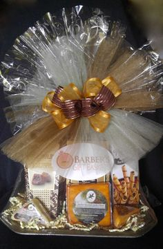 Wine and Cheese, Crackers and Chocolates Charger Plate Gift.
