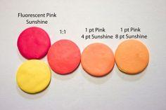 Fluorescent Pink + Sunshine