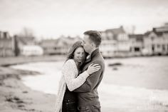 Groton Long Point engagement session