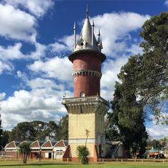 The water tower of La Republica de los Niños built by Eva Perón La Plata 1950, Argentina