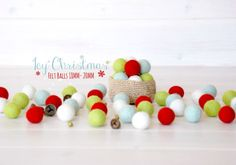 Hey, I found this really awesome Etsy listing at https://www.etsy.com/listing/242187712/christmas-felt-balls-100-wool-felt-balls